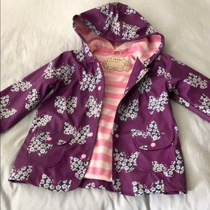 Hatley girls raincoat